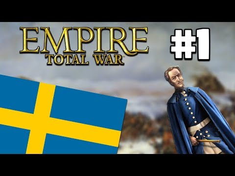 Empire Total War | Sweden #1 | Blitzing Denmark