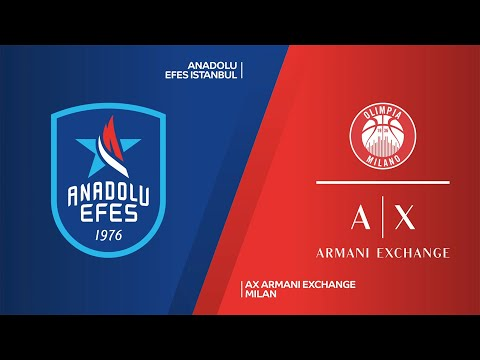 Anadolu Efes Istanbul - AX Armani Exchange Milan Highlights | EuroLeague, RS Round 15