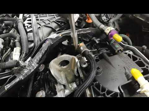 How to replace fuel filter on a Peugeot 508 2.0 HDI RXH – 4WD diesel hybrid