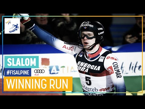 Clement Noel | Men's Slalom | Zagreb | 1st place | FIS Alpin