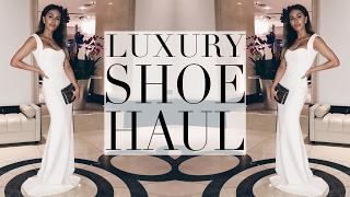 luxury shoe haul   lydia elise millen