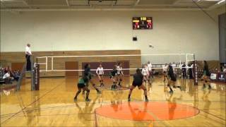 9/25/15 Highline College vs Pierce, NWAC Volleyball