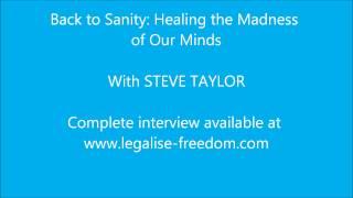 Steve Taylor - Back to Sanity: Healing the Madness of Our Minds