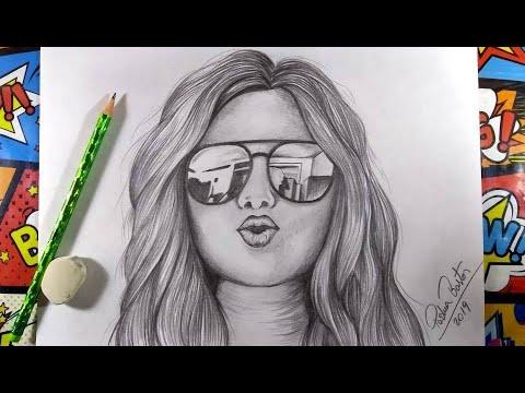 Como Desenhar Garota Tumblr Mandando Beijo Como Desenhar Bem