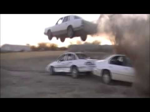 The best car jump ever! - Lincoln Town Car