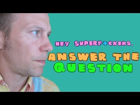James Kochalka answers SuperF***ers questions