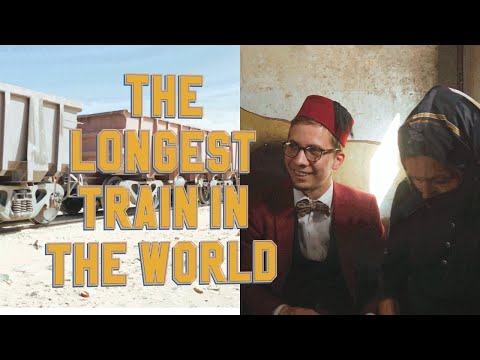 The longest train in the world | Mauritania | The Meridian Expedition
