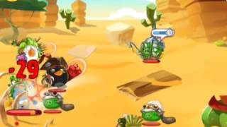 Angry Birds Epic - Wave Battle: Desert Island Level 2 3 Star Walkthrough Gameplay