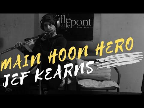 Main Hoon Hero Tera - Jef Kearns (Instrumental Flute cover by Toronto Bollywood Musician)