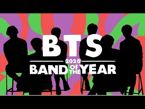 BTS: 2020 Band of the Year Interview