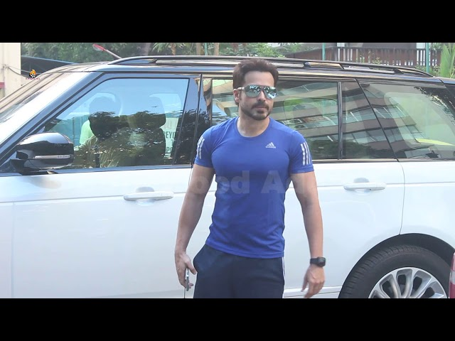 Exclusive  Emraan Hashmi spotted at I think fitness gym bandra