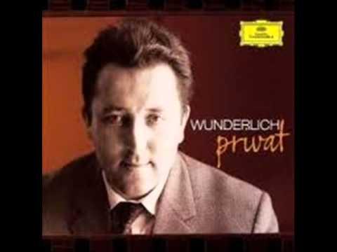 Fritz WUNDERLICH. Am leuchtenden Sommermorgen. Schumann.