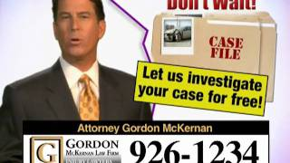 Louisiana Car Wreck & Trucking Attorney - Gordon McKernan - Another Great Reason
