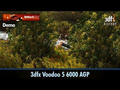 3dfx Voodoo 5 6000 AGP - 3DMark2001 SE - Demo