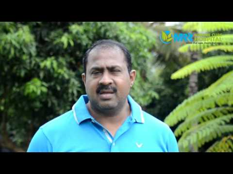 Honorable MLA Mr.Satish Reddy opinion on Mrr Nature cure Hospital.
