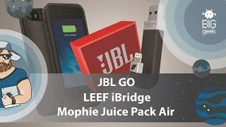 JBL GO ★ LEEF iBridge ★ Mophie Juice Pack Air ► СКИДКИ В BIG GEEK