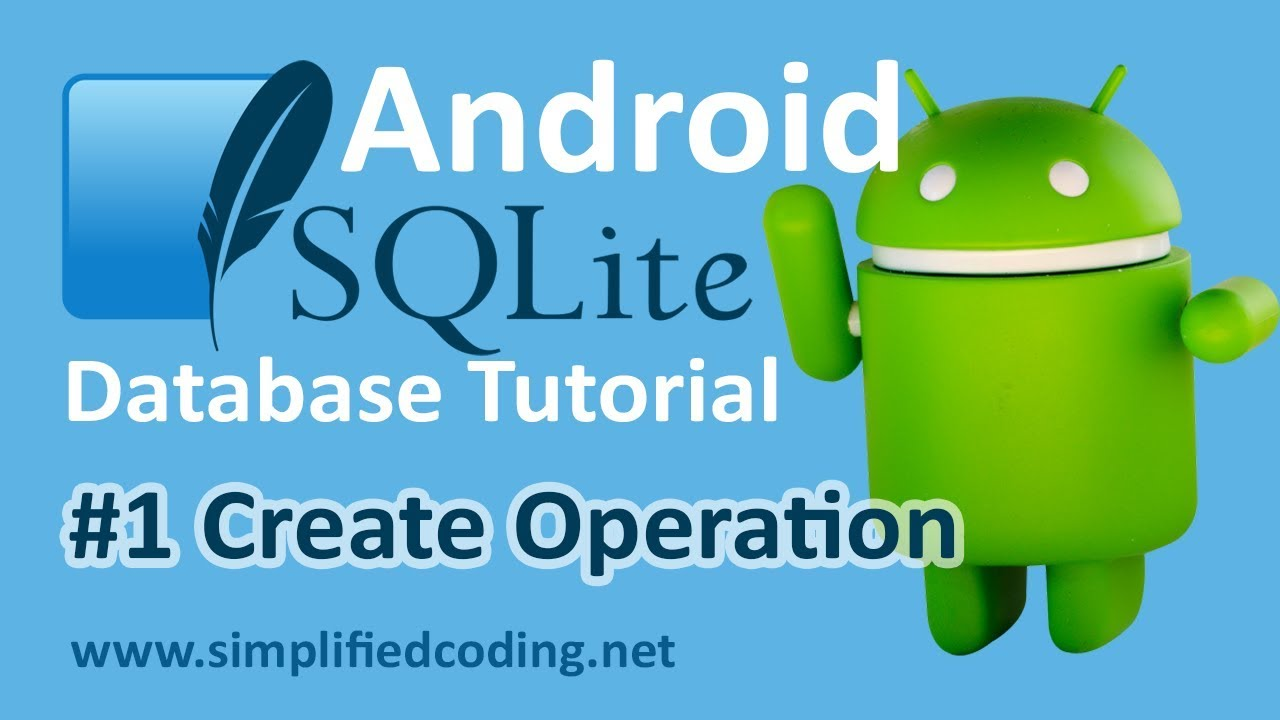 1 android sqlite database tutorial create operation youtube 1 android sqlite database tutorial create operation gamestrikefo Choice Image