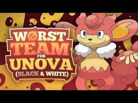 Worst Team For Pokemon Black And White