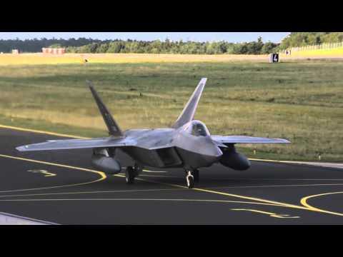 F-22 Raptors Arrive