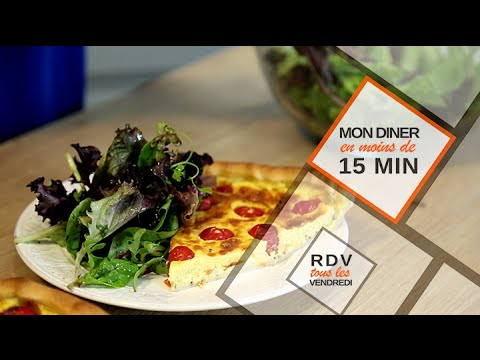 Mon Diner en moins de 15 minutes Episode 1