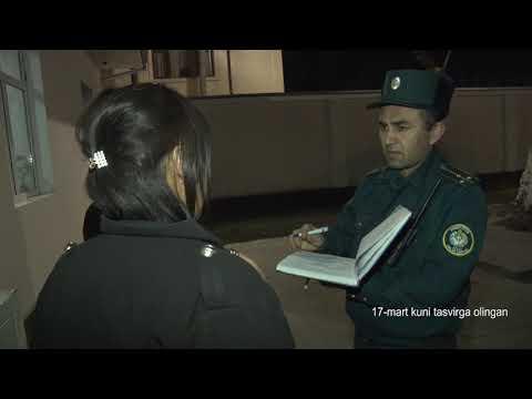 25 Soat 7-son Fohishalik Bilan Tunda Shug'ullanadiganlar Qo'lga Olindi!    (29.03.2020)