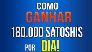 COMO GANHAR 180.000 Satoshis em 1 DIA! SEM FAZER NADA! [FAUCETS BITCOIN]