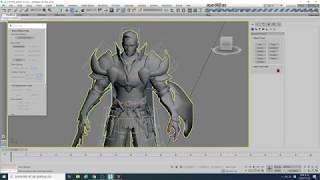 [3D MAX]- 세컨더리 Bone  세팅 팁~!!