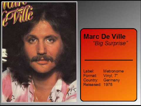 Marc De Ville  Big Surprise