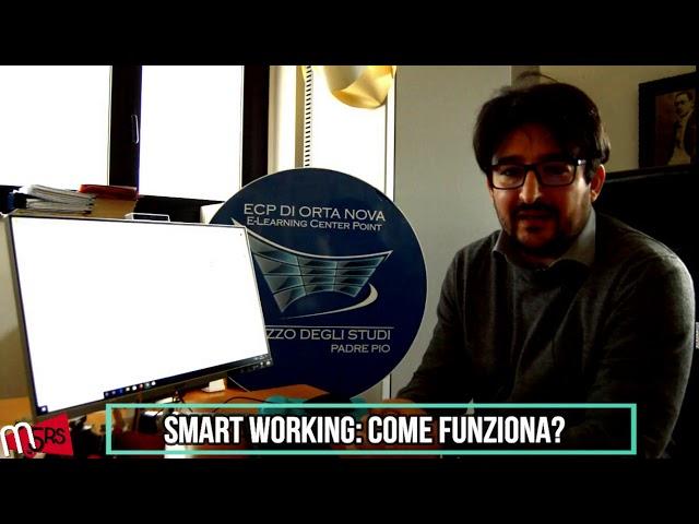Smart working, come funziona? Intervista a Palazzo degli Studi