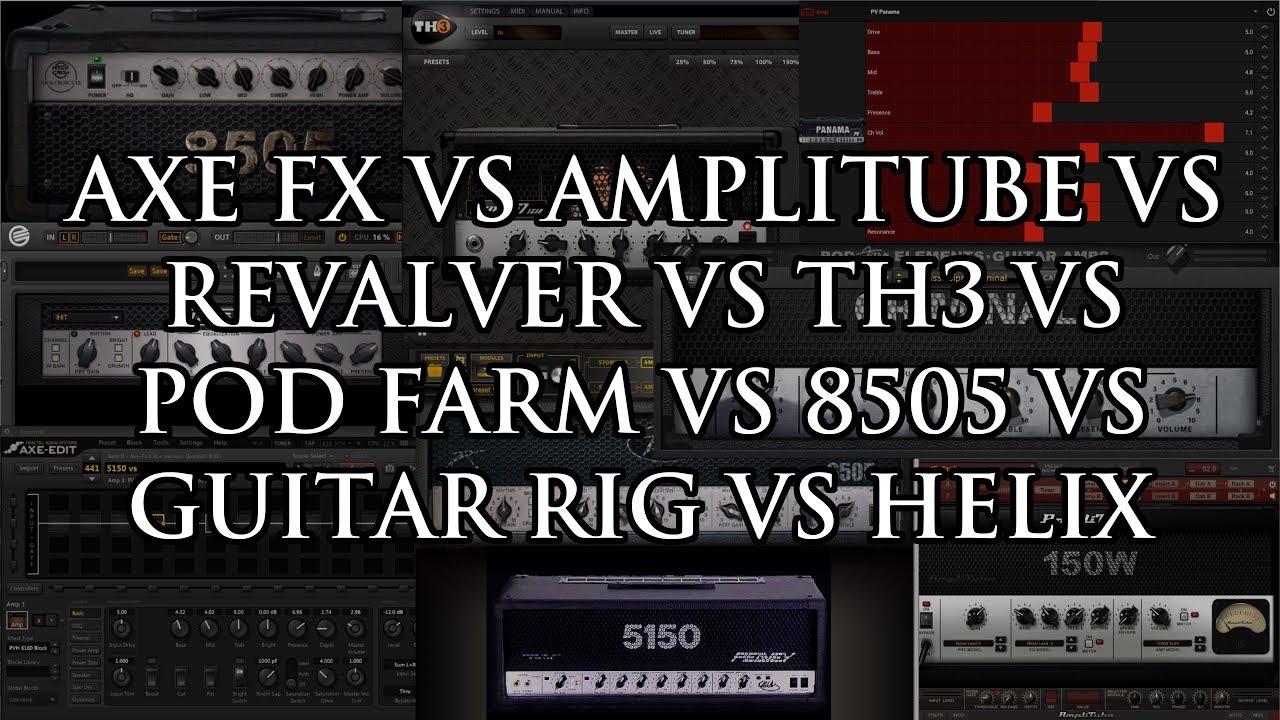 revalver 4 vs amplitube 4
