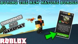 ROBLOX | ASSASSIN: BRAND NEW NATURE BUNDLE (SHOWCASE AND GAMEPLAY)
