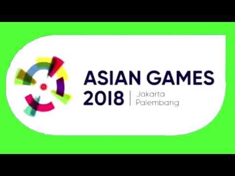 OFFICIAL LOGO ASIAN GAMES 2018 GREEN SCREEN