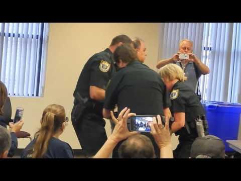 Fascism at Brevard County Schools Meeting