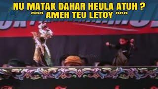 Cepot Tarung Jeung Bima | Wayang Golek Bodoran