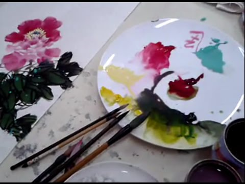 Traditional Chinese Painting - Flowers Painting