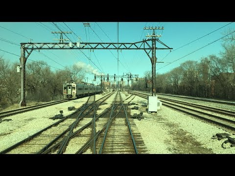 Metra HD 60fps: Electric District Railfan Window Ride [Millennium to University Park]