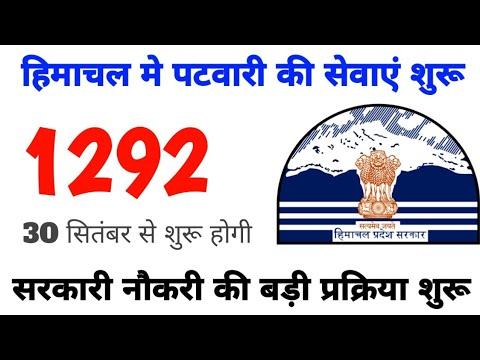 Hp Patwari Bharti Update, Hp Government Job, Hp Govt Job 2021, Patwari Bharti, Job Khoji