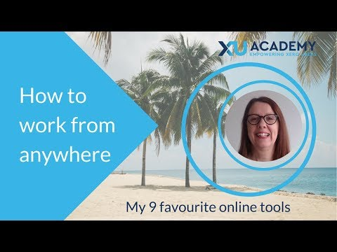 How to work from anywhere - 9 online tools