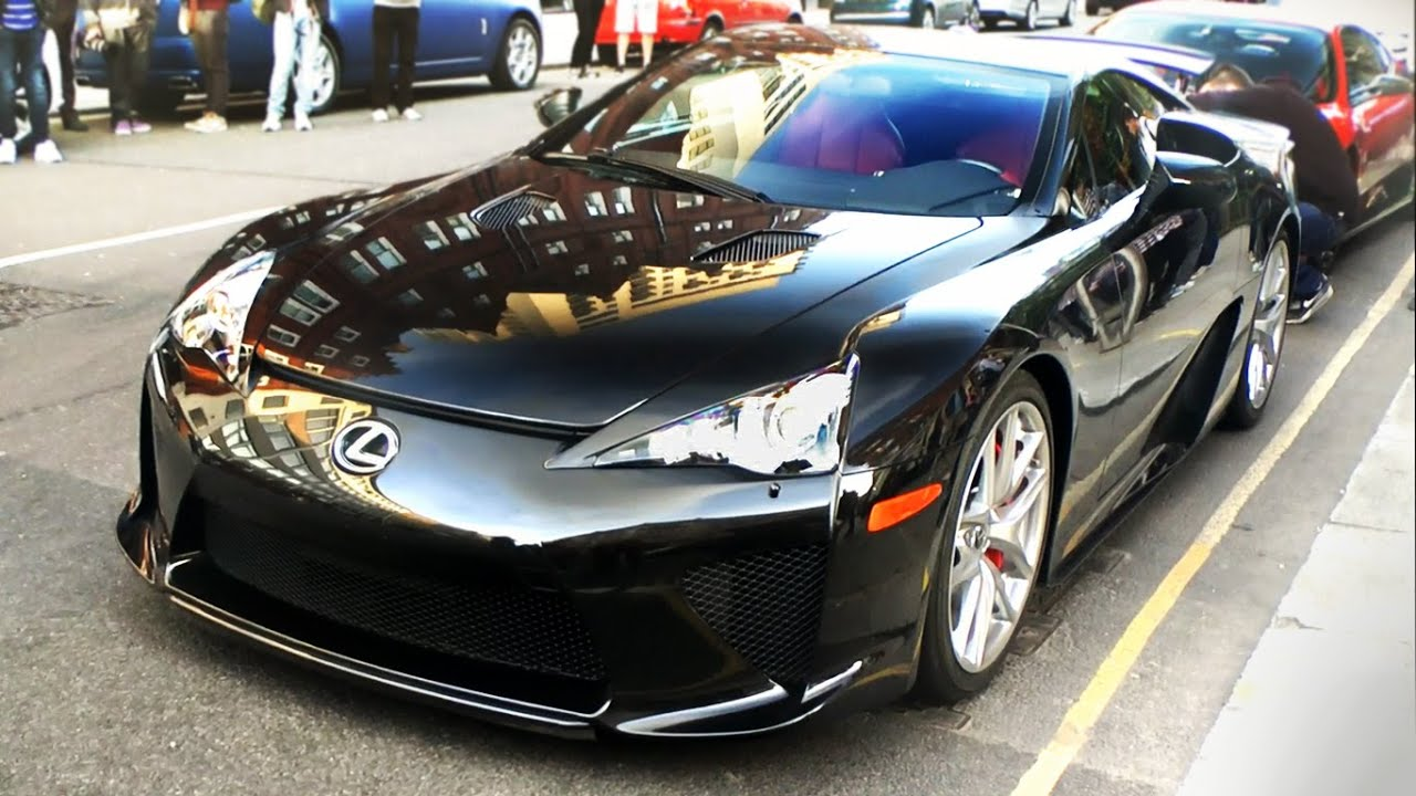 Best Sounding Car Ever Lexus Lfa Revs In London