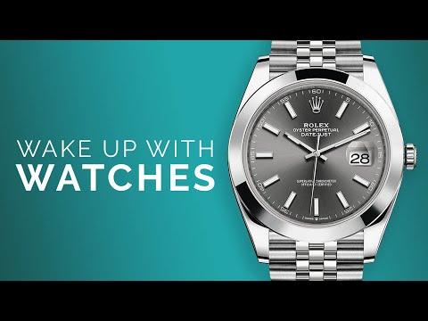Rolex Datejust 41 DARK RHODIUM; Omega Seamaster Diver 300M: Luxury Watch Shopping From Home