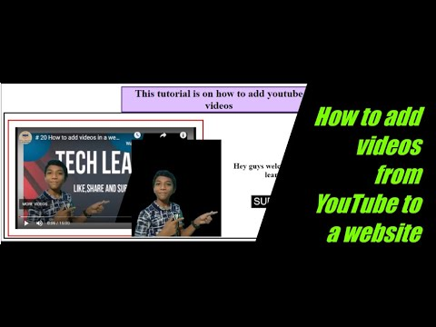 # 21 How To Add Videos From YouTube In A Website | HTML And CSS For Kids | Web Development For Kids