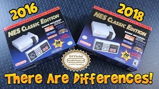 NES Classic Versions! You Do Get Something Different!