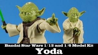 Bandai Star Wars Yoda Model Kit 1/12 and 1/6 Scale Review