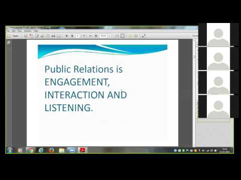 PR Public Relation Industry Expert Session by PR Guru Suresh Gaur - How to do PR On Own