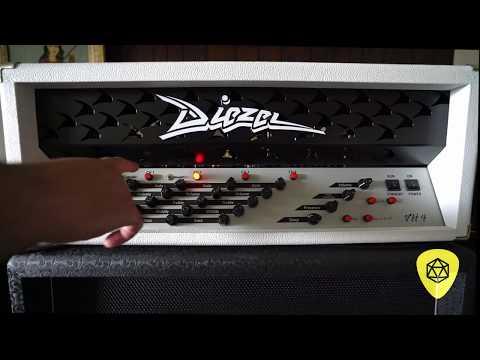 2018 Diezel Amplification -  VH4 Amplifier - Raw Play-thru