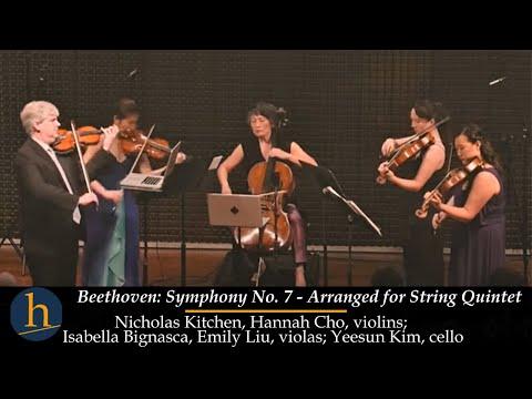Heifetz 2017: Beethoven  Symphony No 7 For String Quintet!