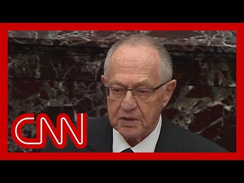 Alan Dershowitz defends