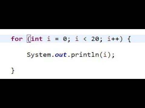 Java - цикл For; вложенные циклы For; использование For
