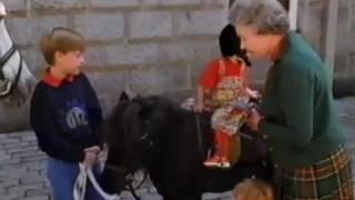 The Queen Takes Her Grandchildren Riding - 1992