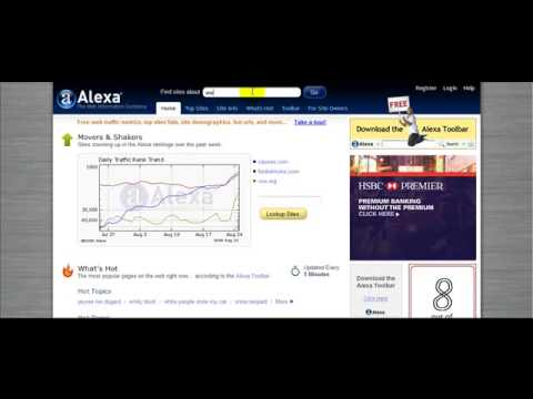 *www.shanepurcell.net* (How To Check Your Websites Alexa Ranking)
